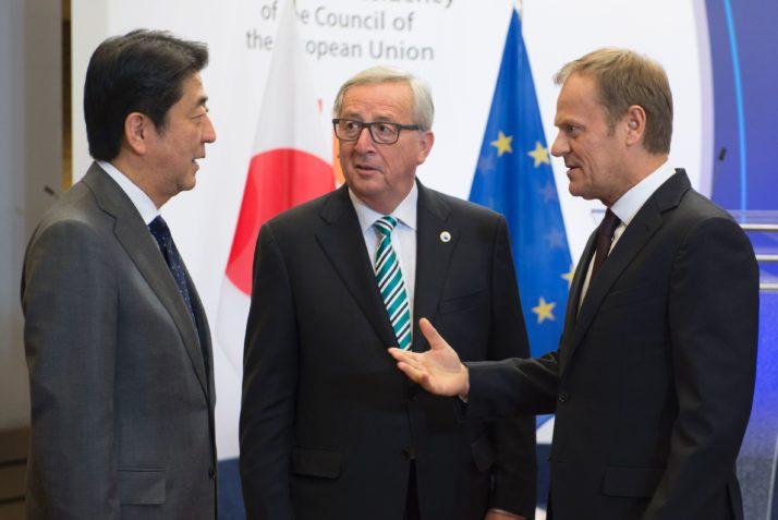 EU, Japan Agree 'in Principle' on Trade Deal