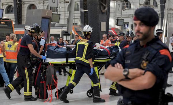 Dozens Injured in Commuter Train Crash in Barcelona Station
