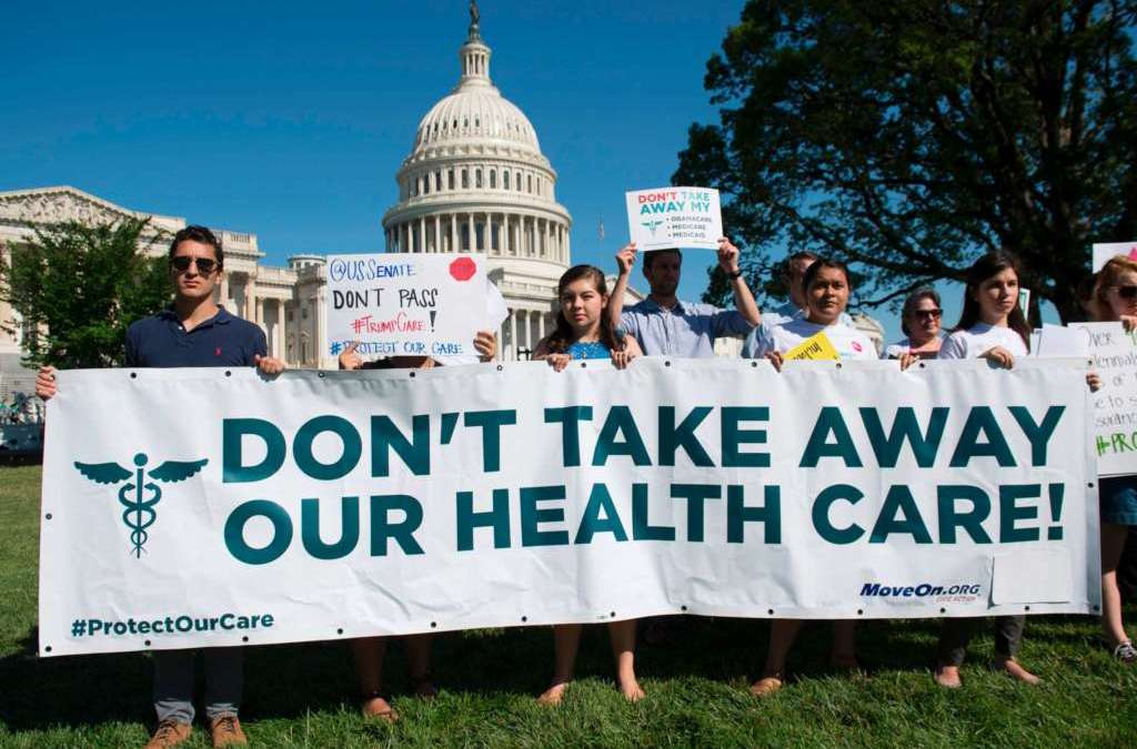 Republican Obamacare Repeal Bill Fails