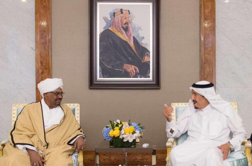 King Salman Discusses with Sudan's President Latest Regional Developments
