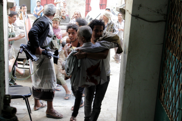 Yemen's Internationally-Backed Government Accuses Putschists of Civilian Massacre in Taiz