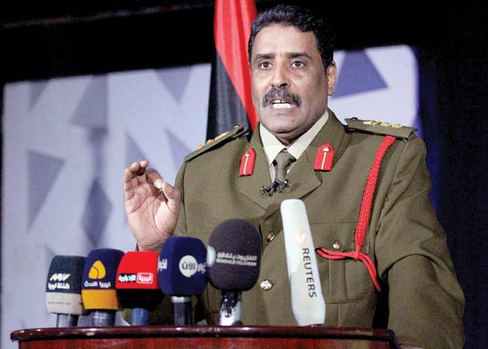 LNA Spokesman Says Qatar Sent Armed Forces to Benghazi, Controls Tripoli's Power Supply