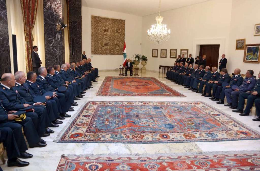 On Army Day, Aoun Pledges Full Political Support