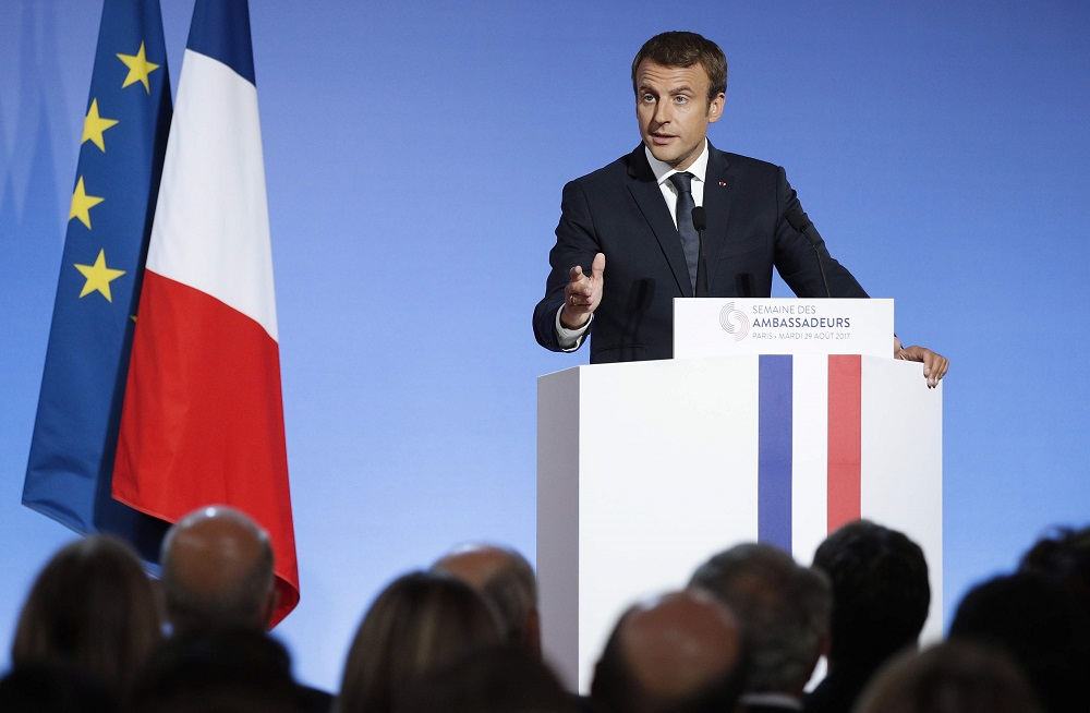 Security, Independence, Bolstering Power at Core of Macron's French Foreign Policy