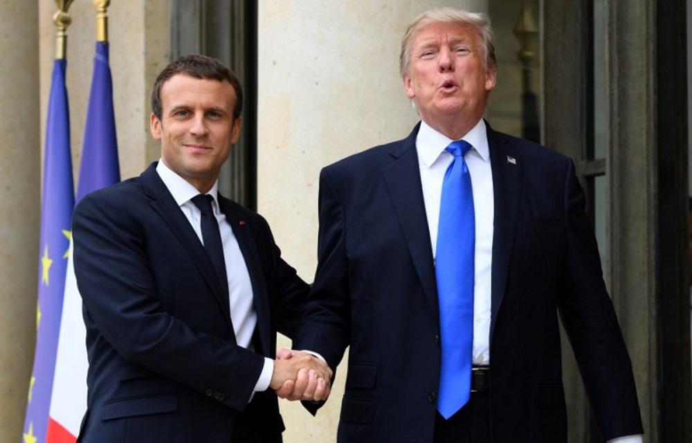 Macron Impresses in Diplomacy, Initiatives on Syria, Libya and Palestine