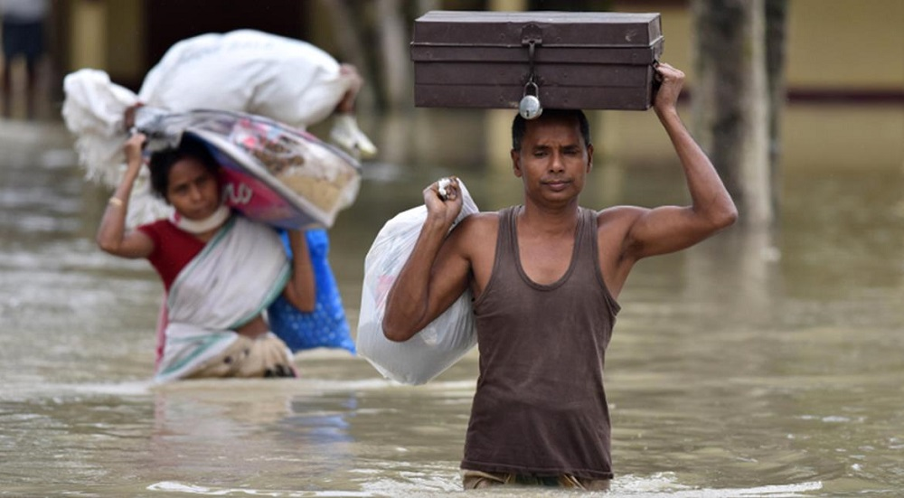 More than 800 Killed, Million Displaced in South Asia Flooding