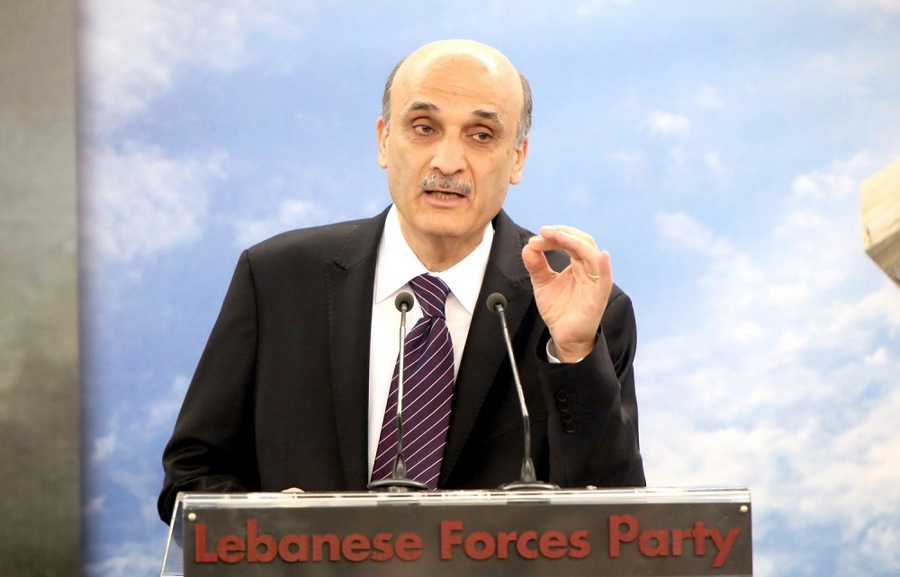 Geagea Supports Expanding UNIFIL Mission to Lebanese-Syrian Border