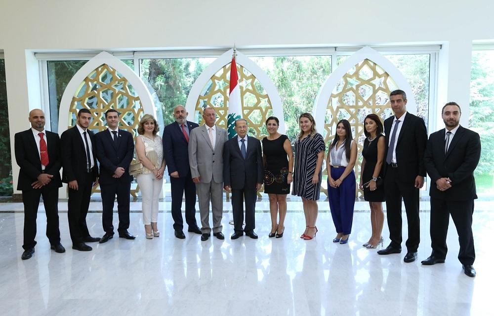 Aoun: National Unity Protected Lebanon against Terrorism