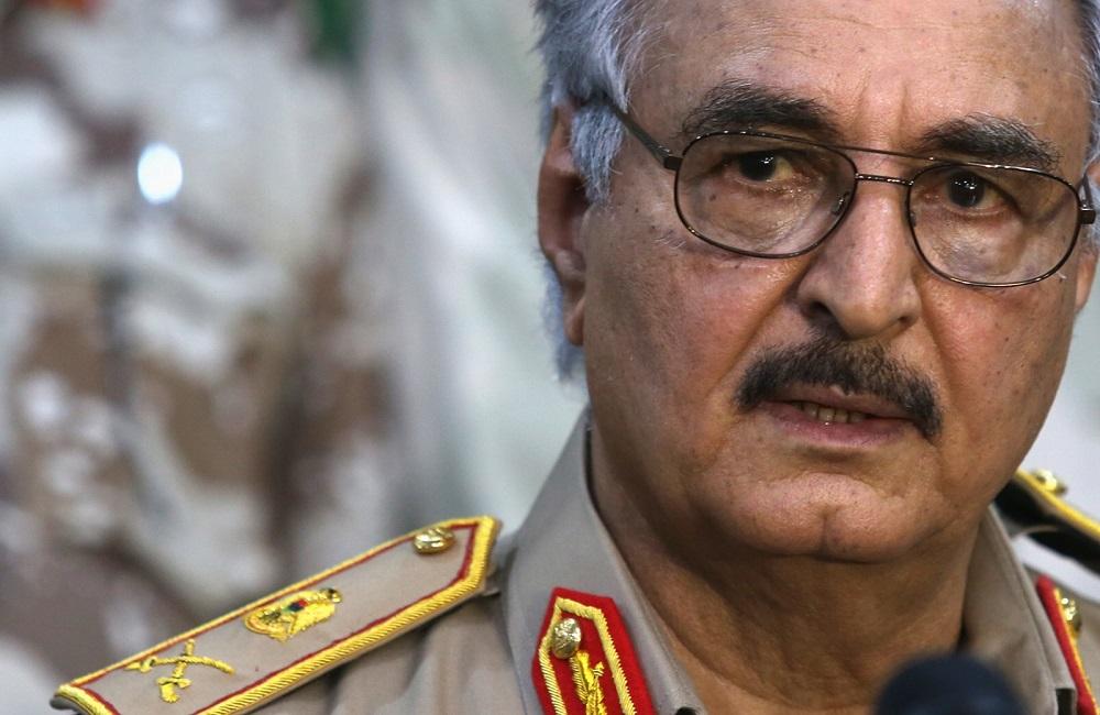 Haftar Makes Surprise Visit to Cairo, Salameh Meets with Saleh in Libya