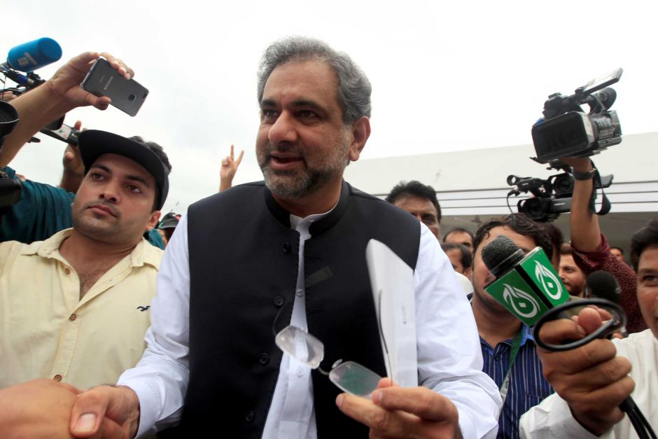 Pakistan Elects Abbasi as Prime Minister