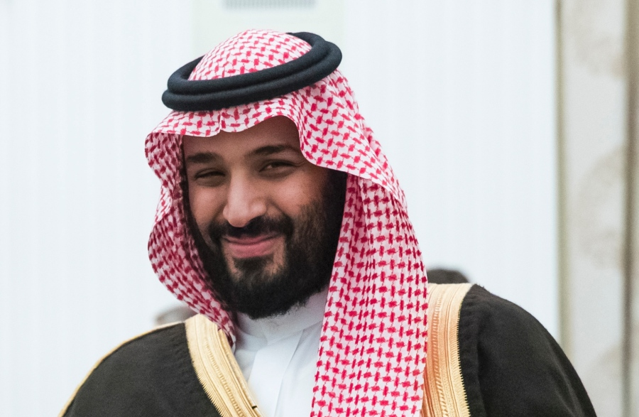 Vice Custodian of Two Holy Mosques Discusses Counter-Terrorism with French President
