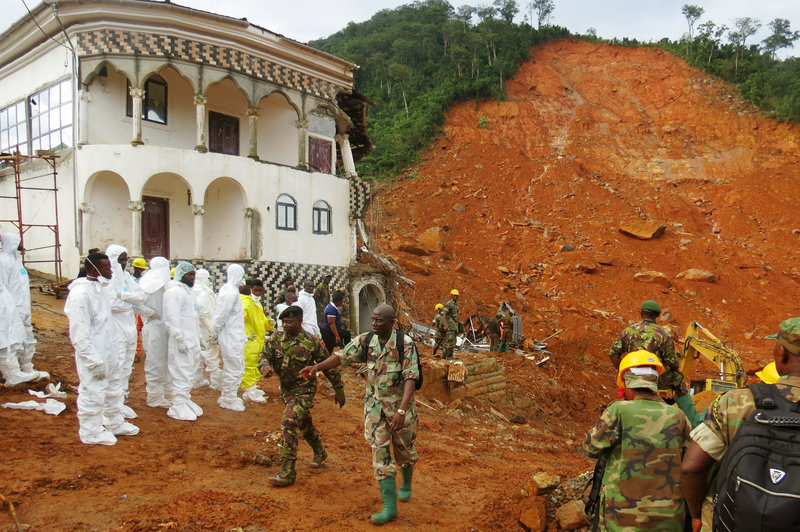 600 Remain Missing as Death Toll from Sierra Leone Mudslides Passes 400
