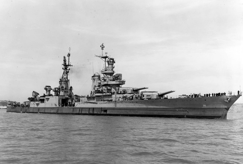 Researchers Find Wreckage of US Warship Sunk in WWII