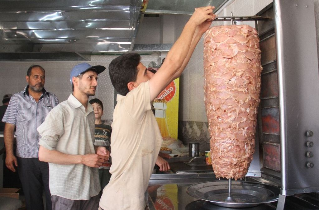Uprooted Entrepreneurs form 'Little Damascus' in Northwest Syria