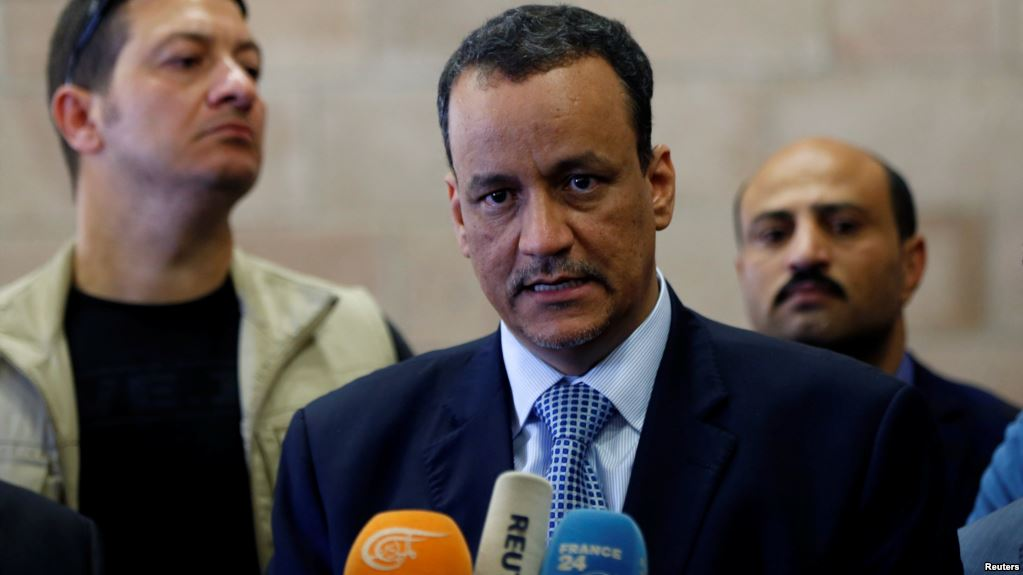 Ould Cheikh: 'No Solution in Yemen but for Institutions to Work under Legitimate Government'