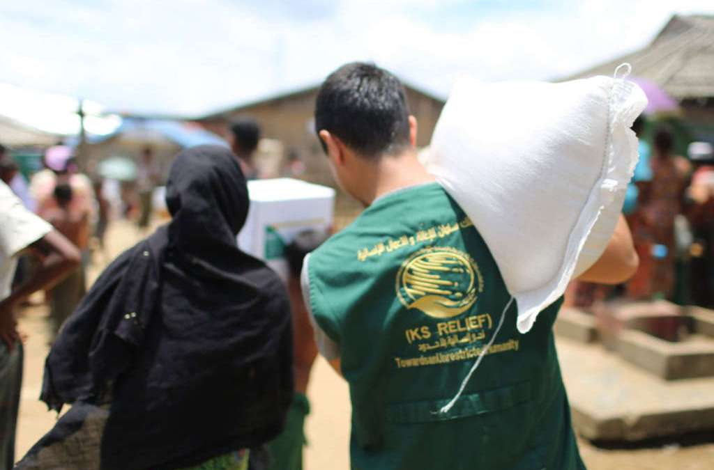 KSRelief Inspects Food Aid Distribution Centers in Aden, Yemen