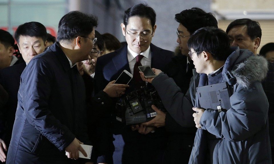 Samsung Heir Guilty of Bribery, Given 5-Year Jail Sentence