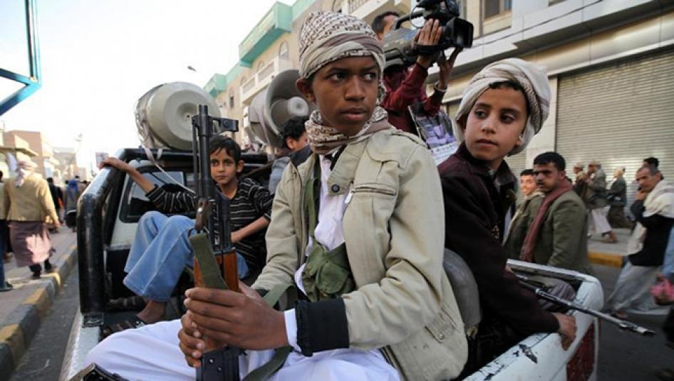Yemen Insurgents Continue to Recruit Children