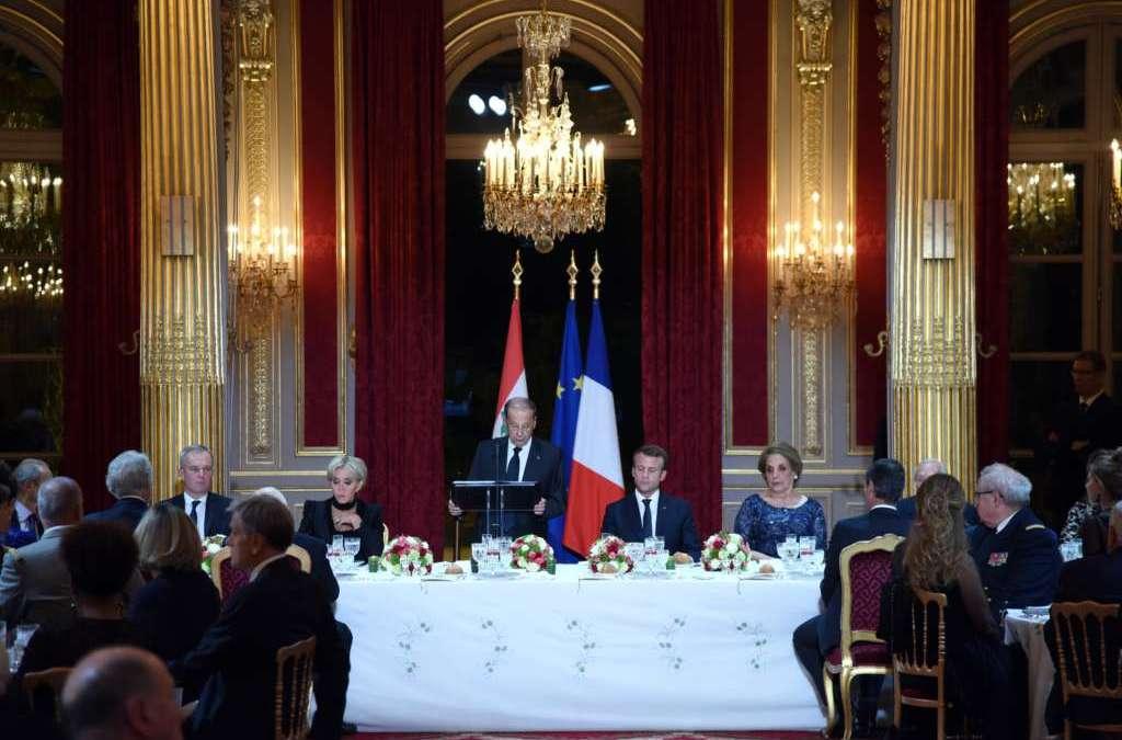 Macron Promises Aoun to Organize Three Conferences to Help Lebanon