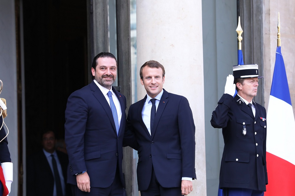 Hariri Concluding Paris Trip: Backing Army Strengthens Lebanon's Institutions