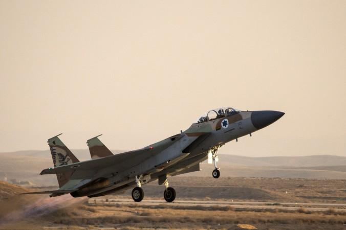 Israeli Airstrike Hits 'Iranian Chemical Factory'