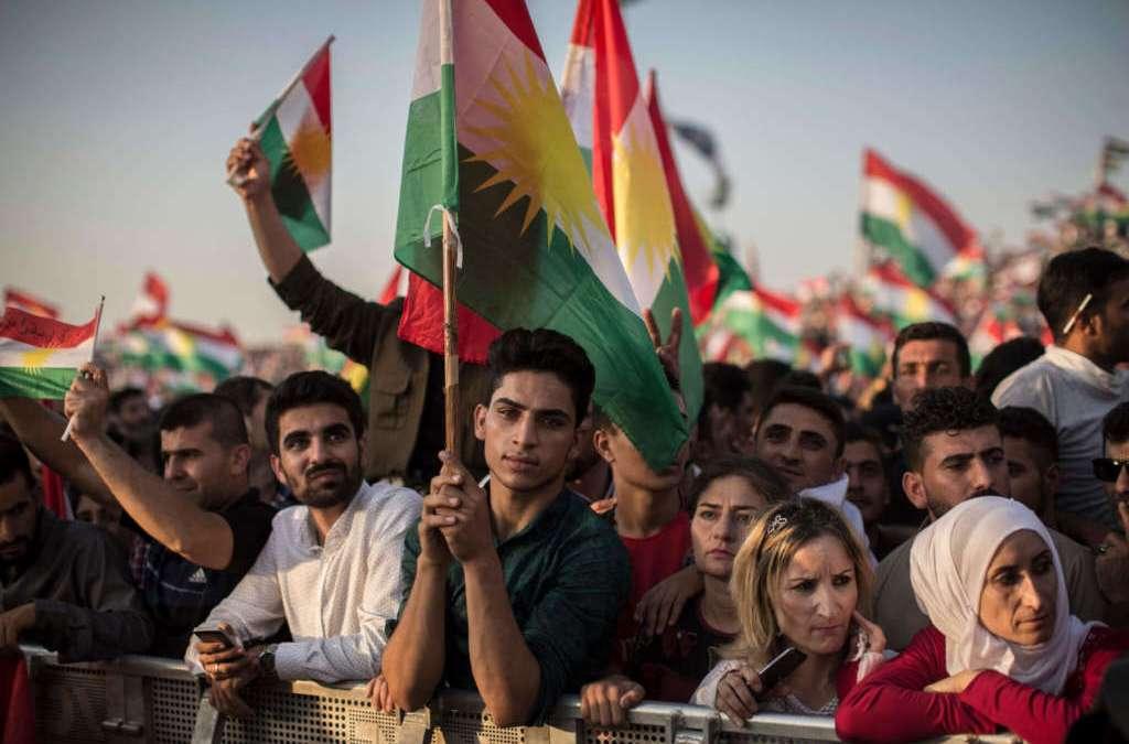 Barzani, the Independence and the Earthquake