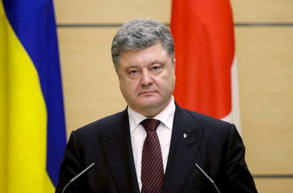 Ukraine's Poroshenko Dismisses Russian Proposal on Deploying UN Peacekeepers