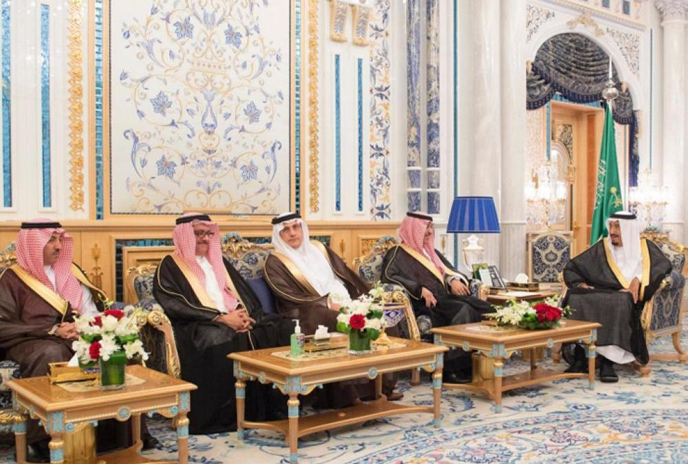King Salman Receives Positive Annual Report from SAMA