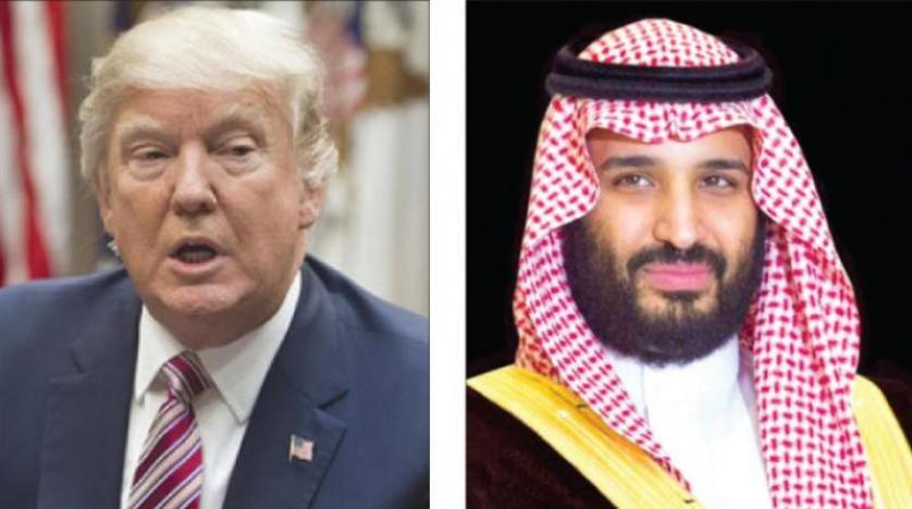 Crown Prince, Trump Stress Need for all Countries to Abide by Riyadh Summit Commitments
