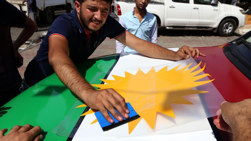 Kurdistan with No International Flights…Borders Battle Looming