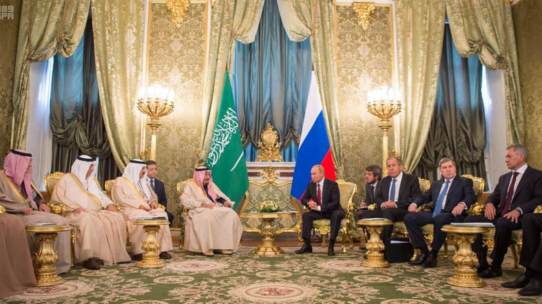 King Salman Says Coordination with Russia Continues on All That Promotes Security, Prosperity