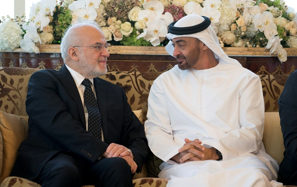 Abu Dhabi Crown Prince, Iraqi FM Discuss Latest Developments