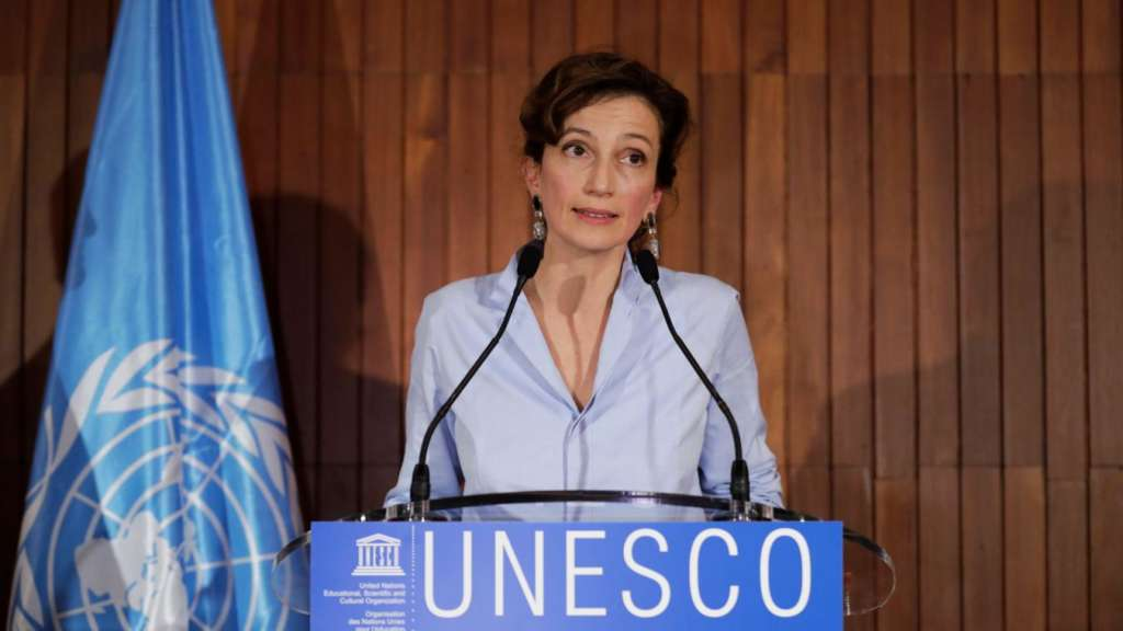 Israel Expects UNESCO to Change its Policy following Selection of Azoulay