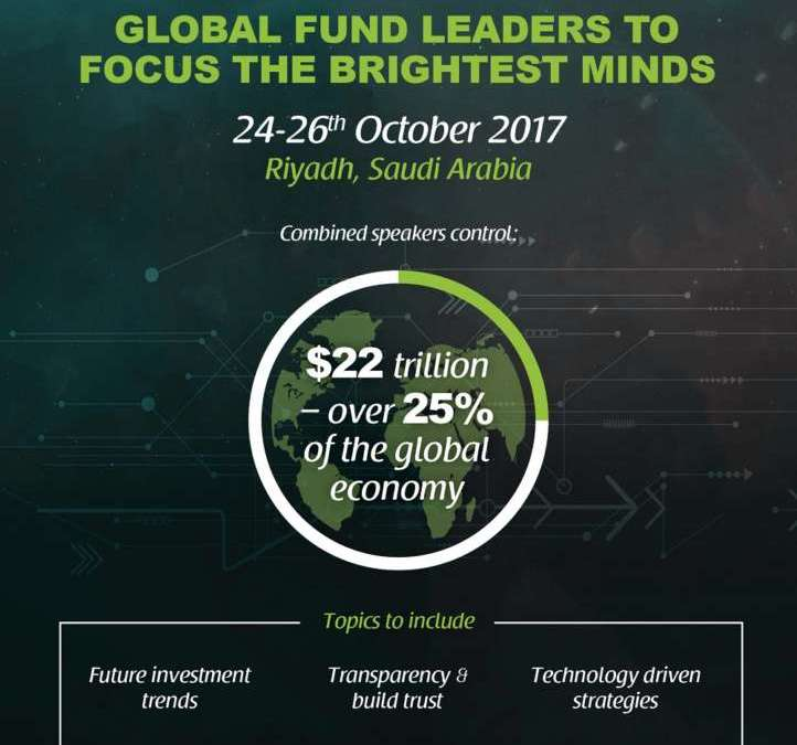 Speakers Controlling $22 Trillion in Asset Value Expected at Saudi Future Investment Initiative