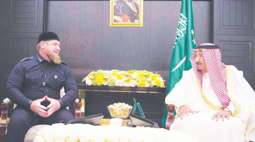 King Salman Meets with Presidents of Chechnya, Ingushetia, Tatarstan in Moscow