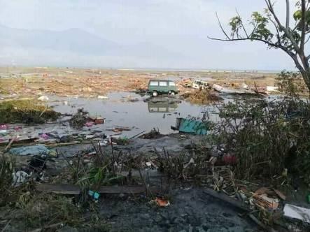 An earthquake and tsunami devastated Sulawesi