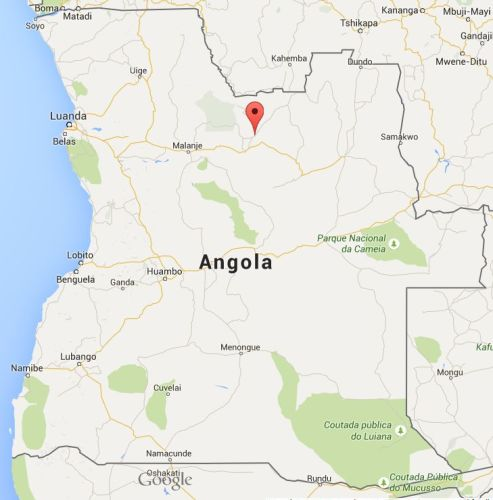 Cuango in Angola