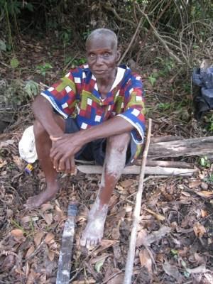 Diamond Miner in Liberia