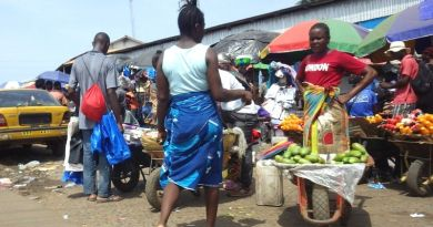 Street selling-means of survival for many common Liberians