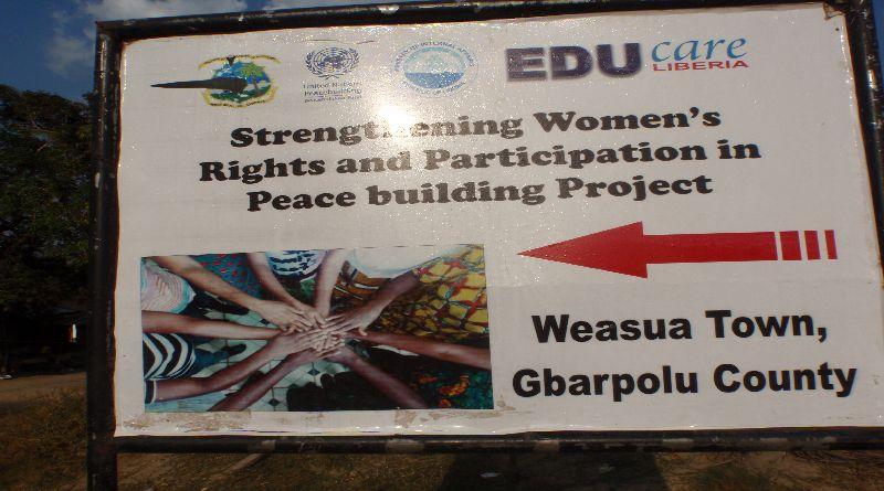 Weasua Women in Peace Building Initiative