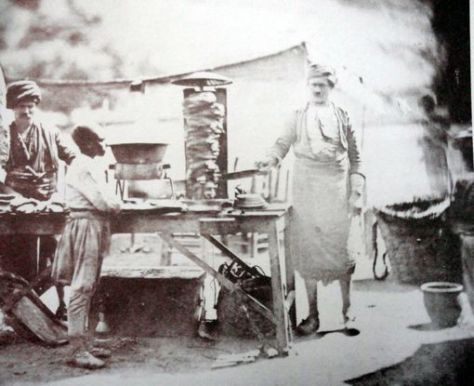 Doner Chef by James Robertson, 1855