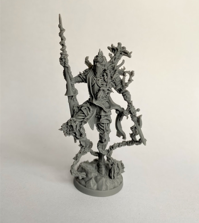 The Thorn Knight from Etherfields board game