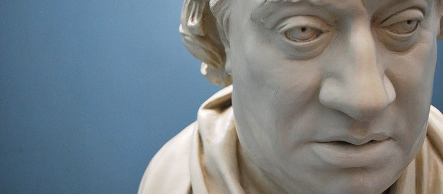 Bust of Dr. Samuel Johnson