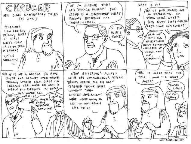 ENG404 Chaucer: The Canterbury Tales