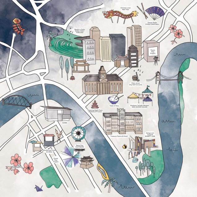 Jessie Miles (Illustrator), Kerry Turnbull (Art Director), Noodle Flight (2014), Digital Illustration