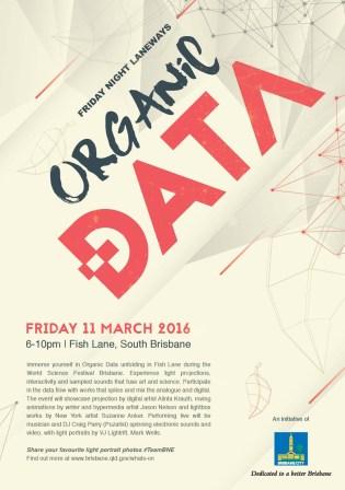 Organic Data Print Campaign, Poster Art