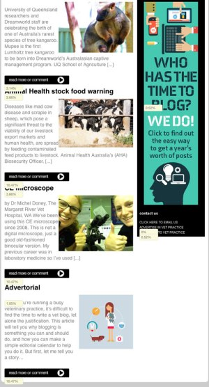 Our native advertising experiment.