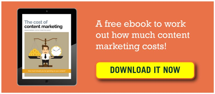 the cost of content marketing