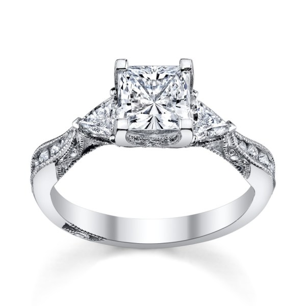 6 Princess Cut Engagement Rings 'll Love - Robbins
