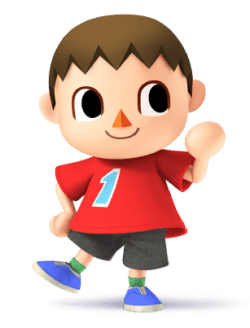 Super Smash Brothers Characters - Villager